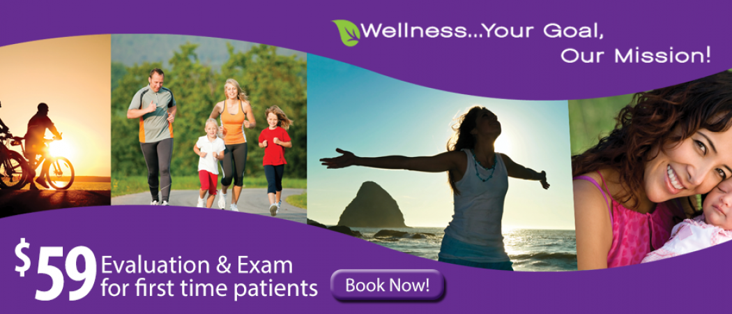 New Patient Chiropractic and Wellness Evaluation and Exam $59 Special